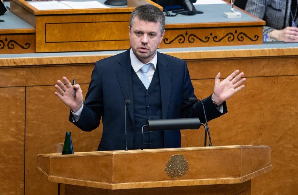 Ränderaamistiku arutelu riigikogus