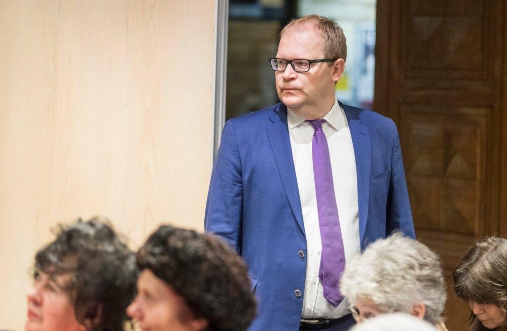 Eurosaadik Yana Toomi büroo korraldatud arutelu Süüria kriisi teemal.