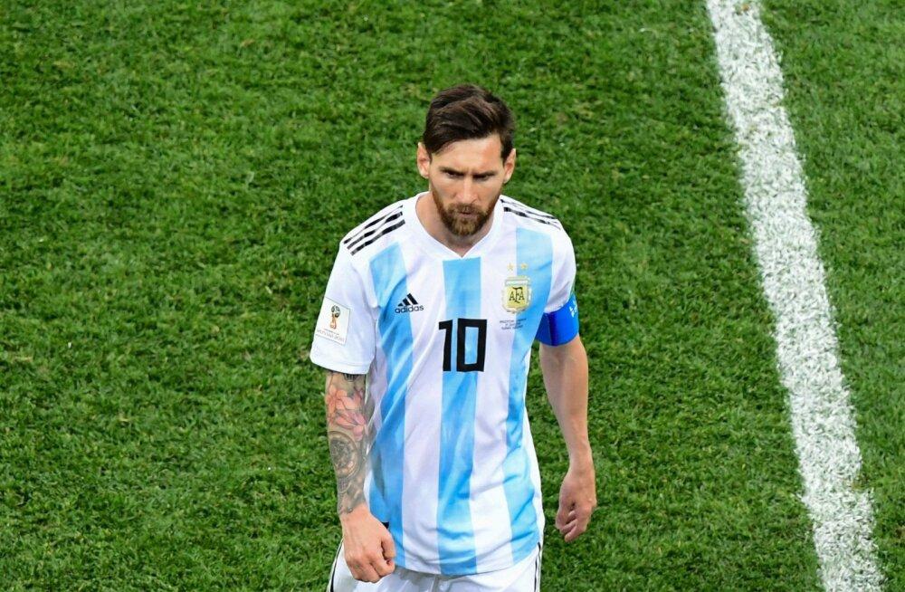 ec9fc0db089 Lionel MessiFoto: MARTIN BERNETTI, AFP/Scanpix. Argentina jalgpallikoondis  ...