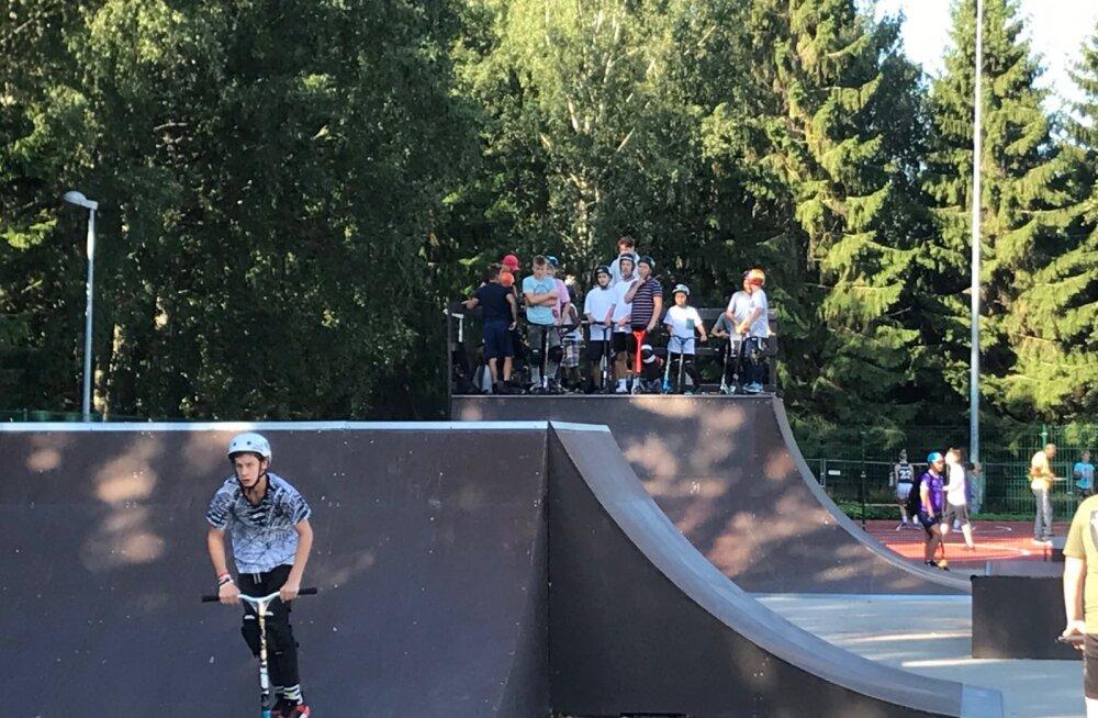 Лето в Хааберсти завершилось молодежным Днем стиля жизни