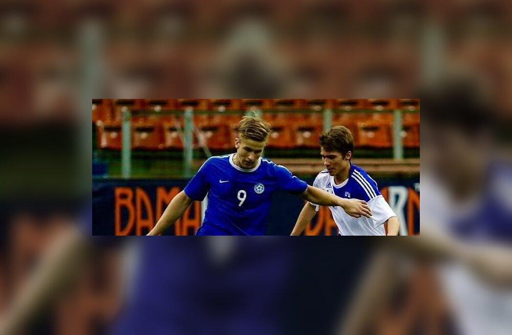 Noortekoondislane Andre Järva sõlmis Kaljuga profilepingu