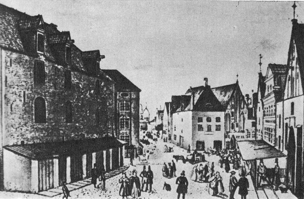 """KATKEND RAAMATUST """"Tallinna lahingud, piiramised, mässud ja sõjapealikud"""": 1710. aastal laastas Tallinnat nii piiramine kui ka katk"""