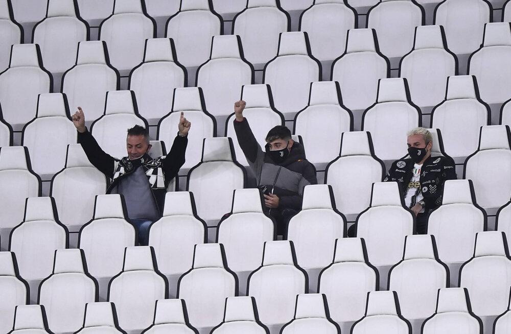 Juventuse ja Napoli mängu eel