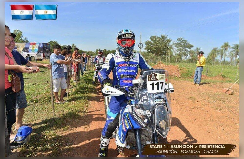 Toomas Triisa võitis Dakari ralli raskeima võistlusklassi!