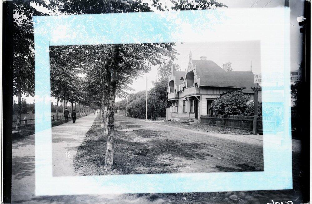 Pärnu vaated, Mere puiestee, 1900-1910