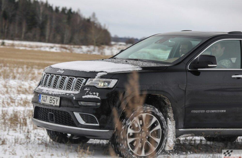Uuenenud Jeep Grand Cherokee: mis mõttes ei tohi uhket ülikonda mudaseks teha?