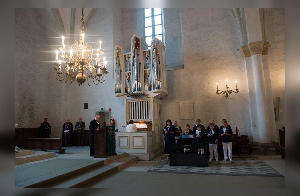 Jumalateenistus Haapsalu Toomkirikus