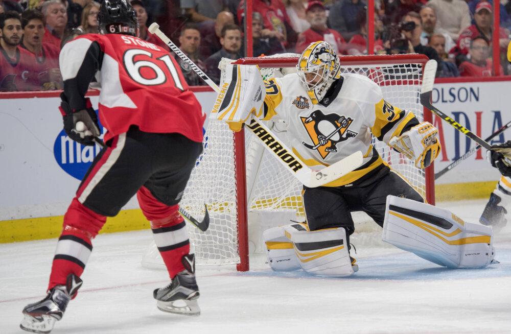 Penguinsi väravavaht Matt Murray