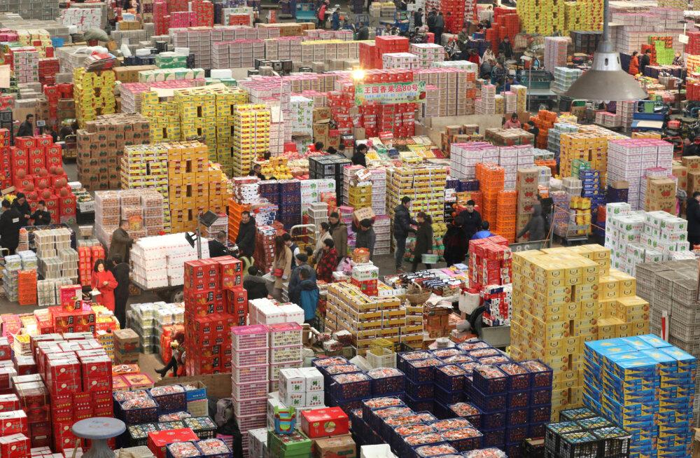 "ФОТО. ""Алиэкспресс в оффлайне"": как выглядит гигантский город-базар в Китае"