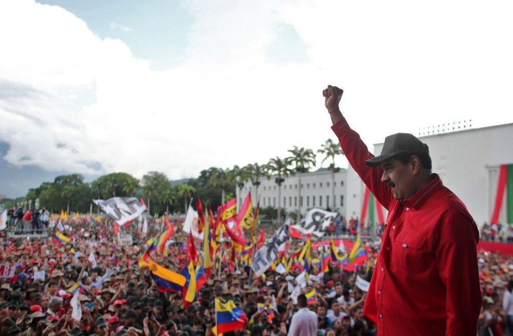 Venezuela muretseb USA provokatsioonide pärast piiril