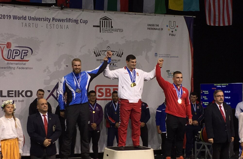 Positiivse dopinguproovi andnud Eesti jõutõstja jäi medalist ilma, kuid pääses võistluskeelust