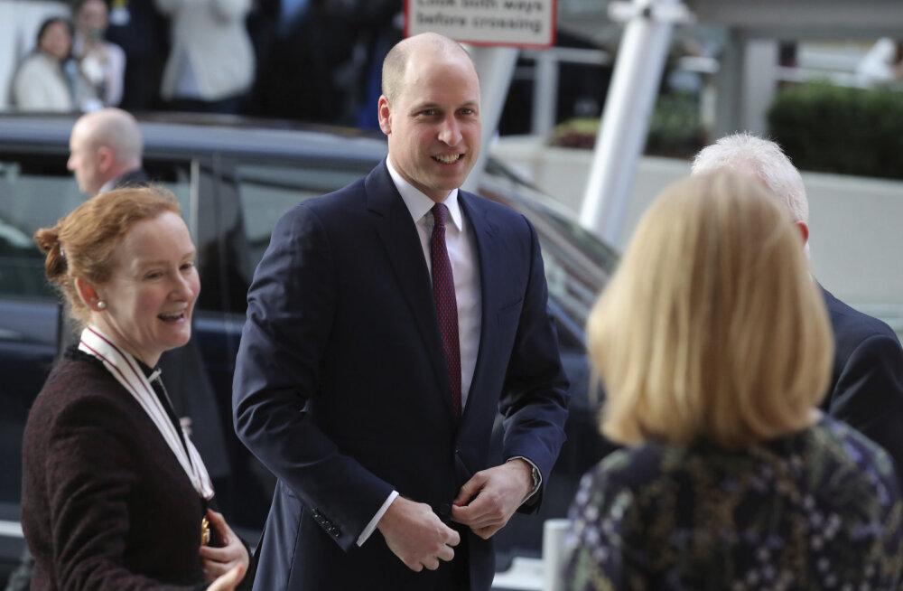 FOTOD | Kuidas meeldib? Prints William ajas oma niigi kiilaka pea veel paljamaks