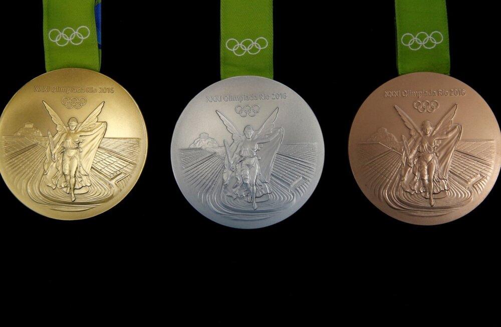 Rio-2016 medalid