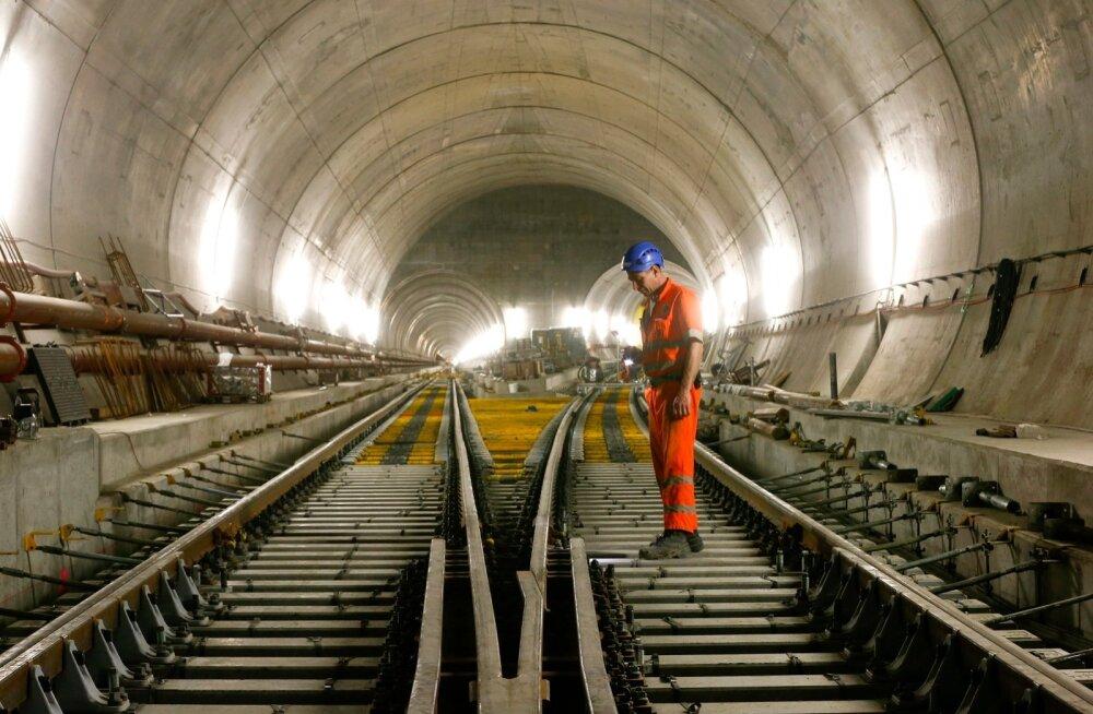 Helsingi-Tallinna tunneli rajamist hakkab tõsiselt uurima kaheksa konsultatsioonifirmat