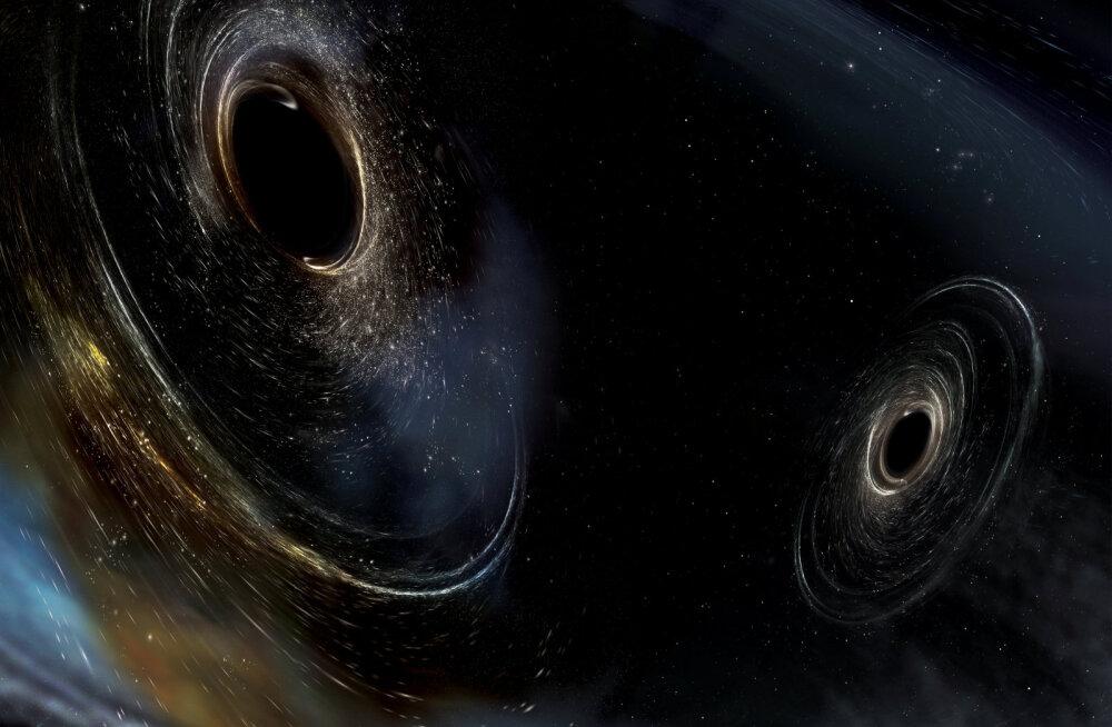 Teadlased näitasid maailma esimest fotot mustast august