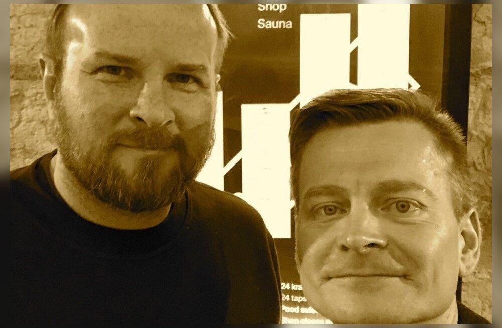 Tiit Paananen (vasakult) ja Veiko Valkiainen.