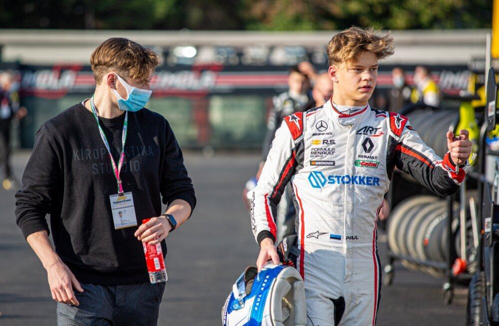 Paul Aron (paremal) sõidab tõenäoliselt samas sarjas ka järgmisel aastal.