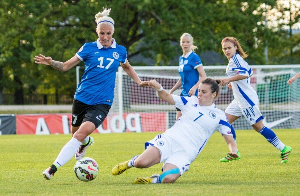 UEFA naiste EM-valikmäng 06.06.16