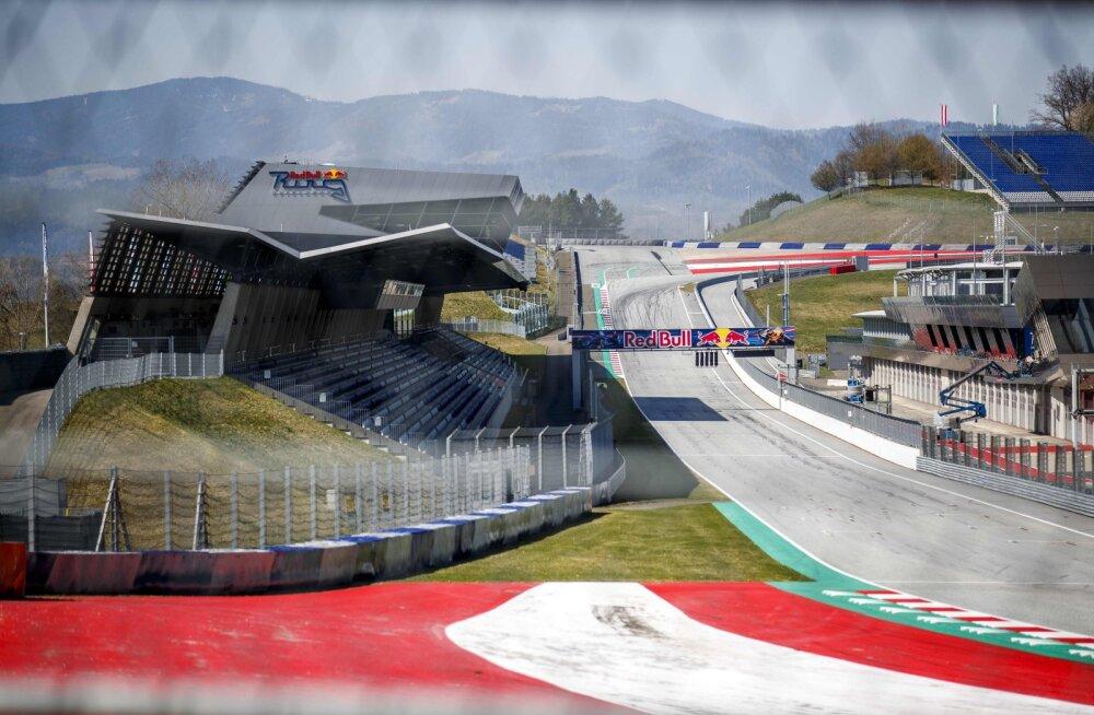 Vormel 1 hooaja esimesed kaks etappi toimuvad Austrias, 400 ringrajaga seotud inimest on juba testitud