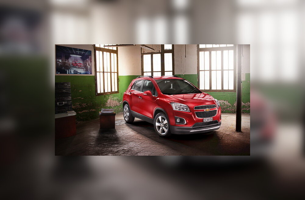 Chevrolet kohendas Captivat, müüki jõuab ka krossover Trax