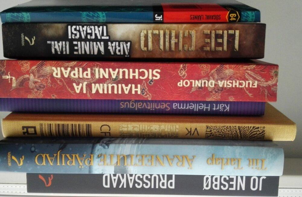 Karl-Martin Sinijärv on juulikuiseks lugemiseks valinud soliidse hulga raamatuid.