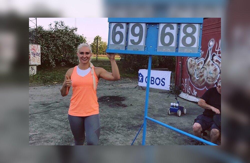 Eesti rekordi heitnud Anna Maria Orel: olen superõnnelik!
