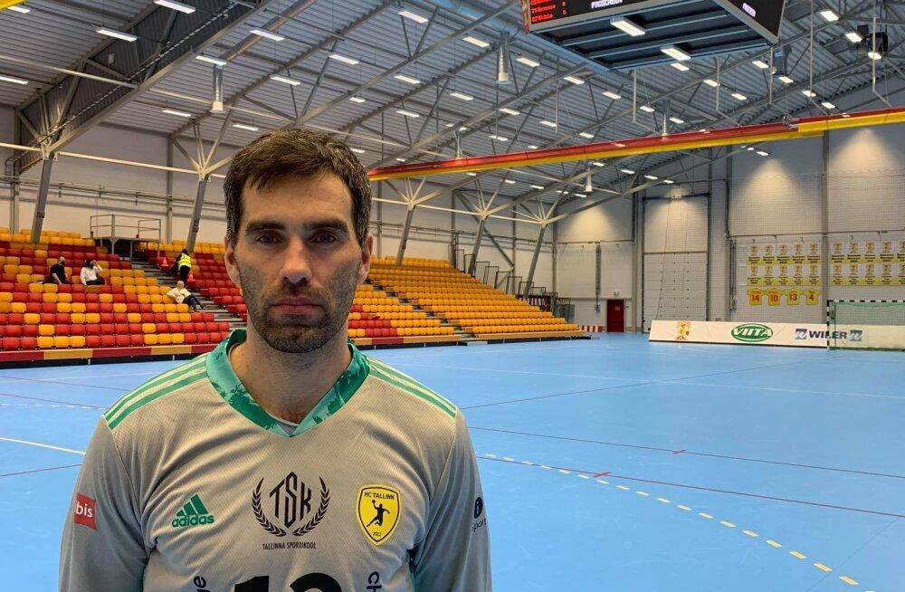 HC Tallinn täienes Eesti käsipallikoondise raudvara võrra