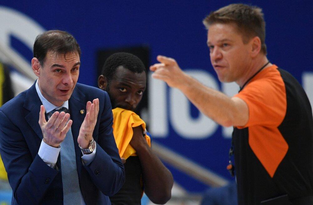 Himki peatreener Georgios Bartzokas jäi abilisest ilma