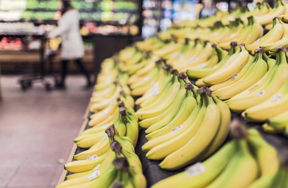 Banaanid kaupluses