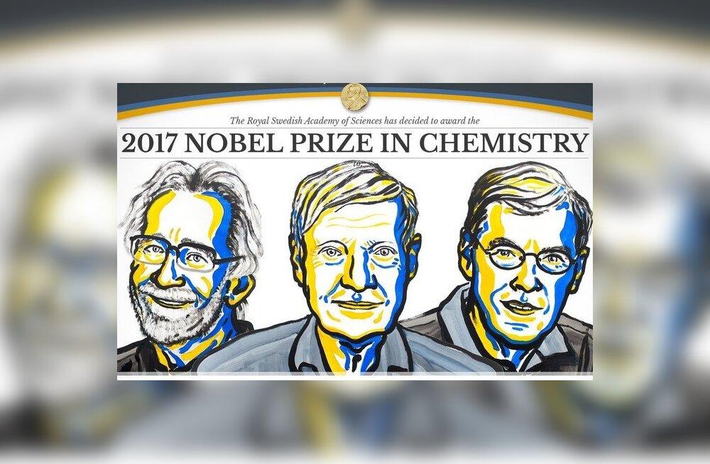 Nobeli keemiapreemia läks elu molekulide pildistajatele