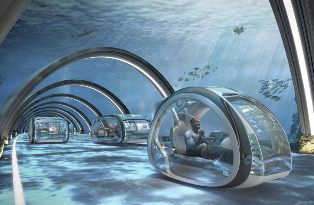 Прогноз: в ближайшие 50 лет нас ждут воздушные такси, скоростные тоннели и фантастические способы путешествий