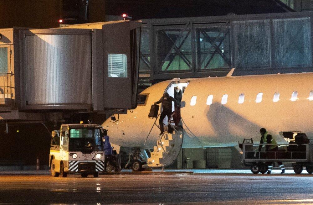 Malaga lend Tallinna 18.03.2020