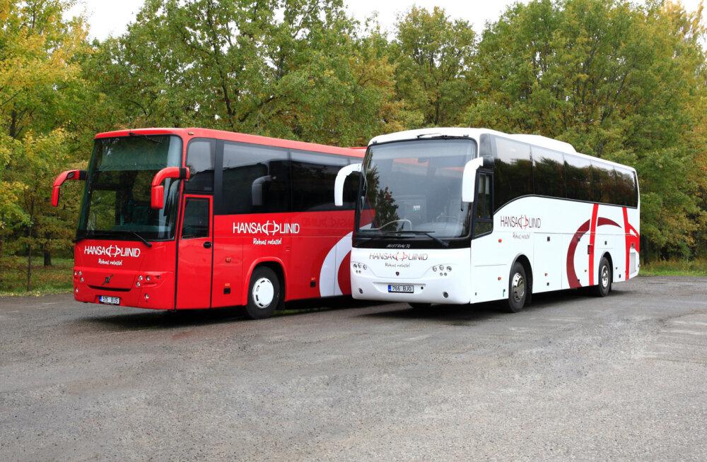 Компания Hansa Bussiliinid открыла первую международную автобусную линию Вильянди-Валмиера