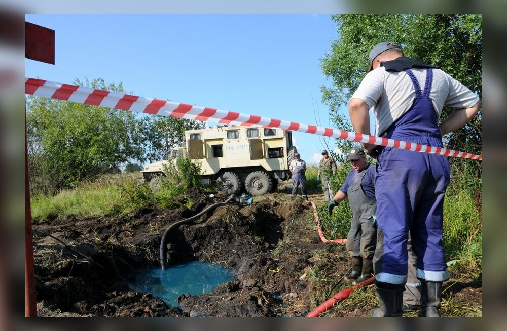 Greenpeace: pool maailma naftaleketest toimub Venemaal