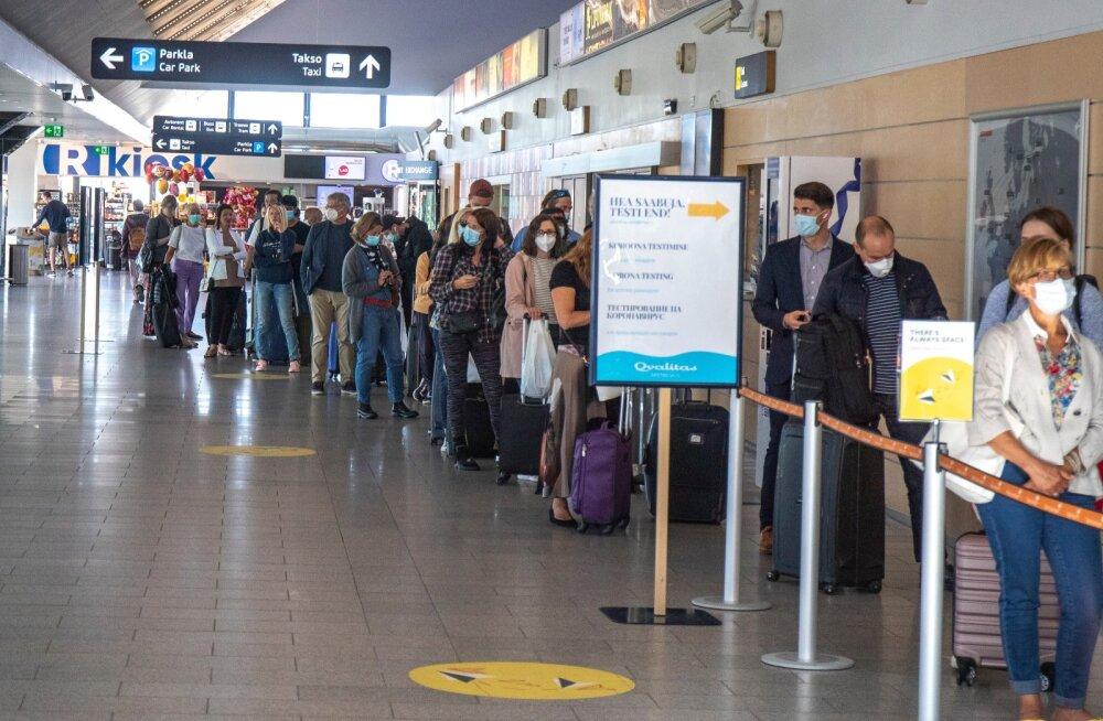 Эстония надеется, что ЕС сможет договориться об общих требованиях по карантину для приезжающих