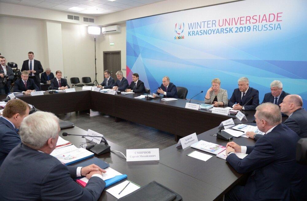 Taliuniversiaadiks valmistutakse Vladimir Putini valvsa pilgu all