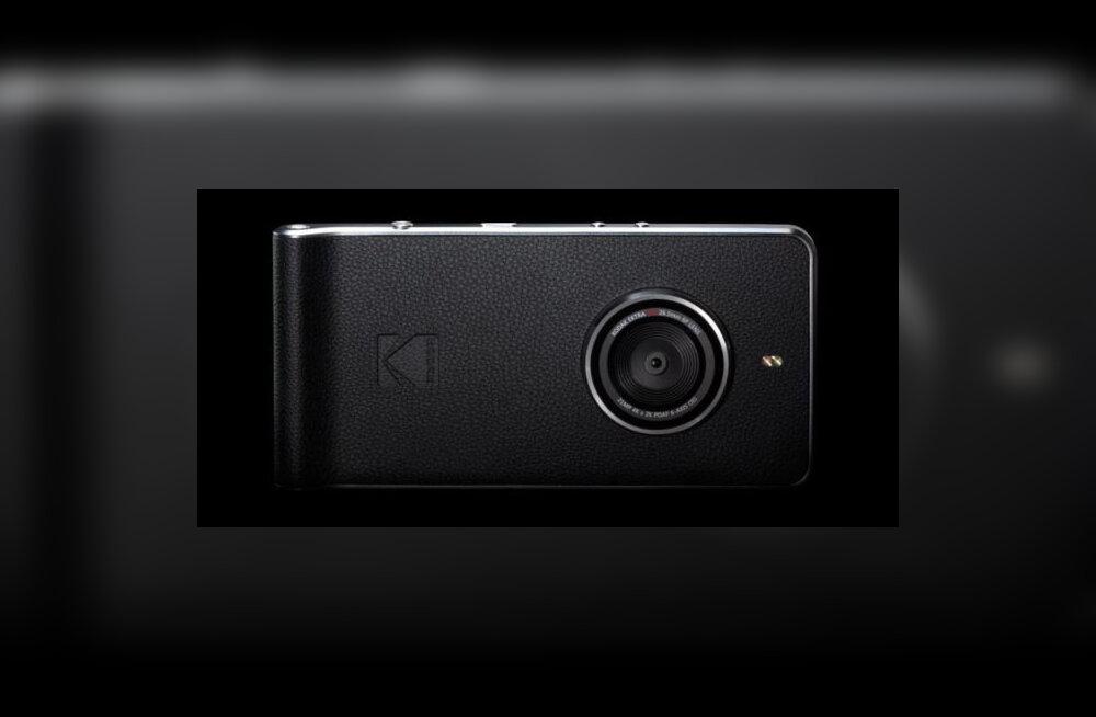 Fotomaailma legend Kodak pole nutitelefonide osas alla andnud: see on Ektra