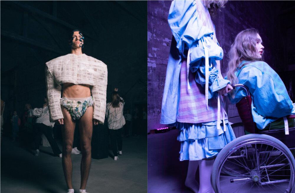 ФОТО   Непромокаемый трикотаж и одежда из гобеленов. Молодые эстонские дизайнеры представили свои коллекции на показе ERKI Moeshow