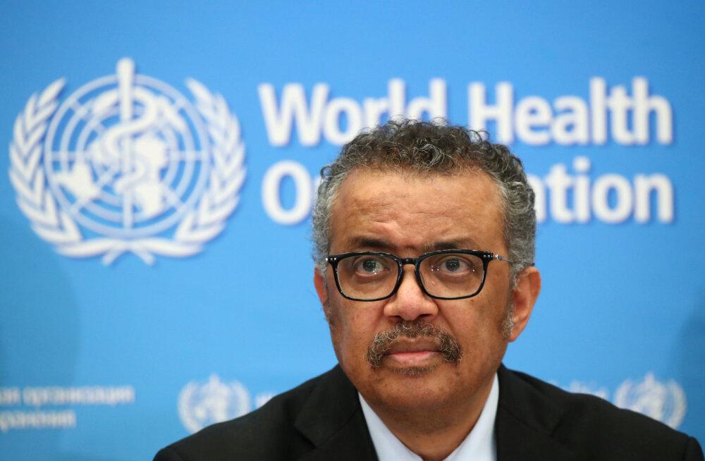 WHO: uute koroonaviirusesse nakatunute arv väljaspool Hiinat ületas eile nende arvu Hiinas