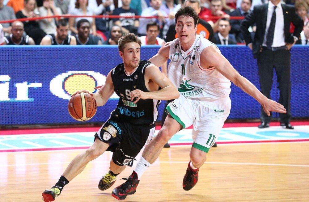 Kristjan Kangur tegutsemas Itaalia liiga poolfinaalis