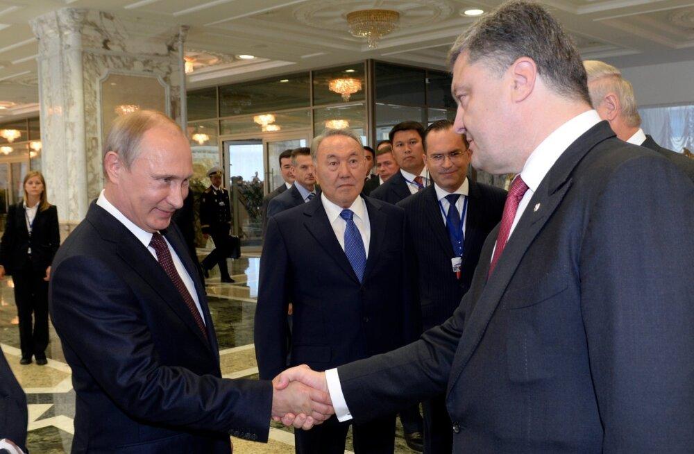 Putin ja Porošenko