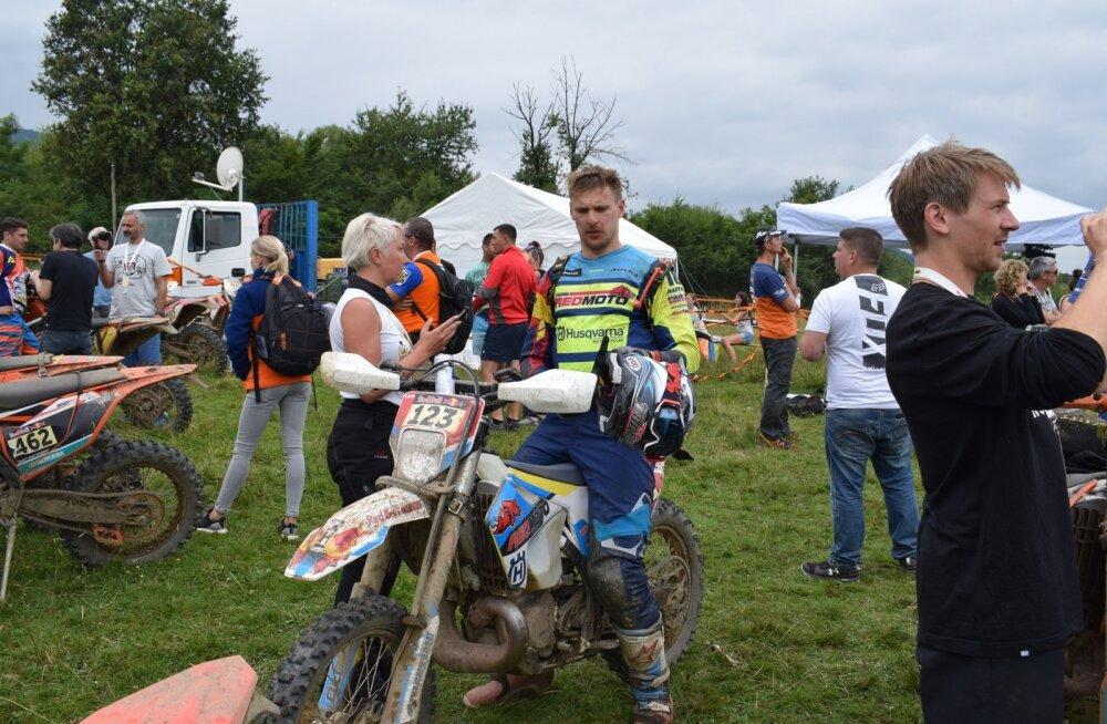 Toomas Triisa Romaniacsi etapi finišis