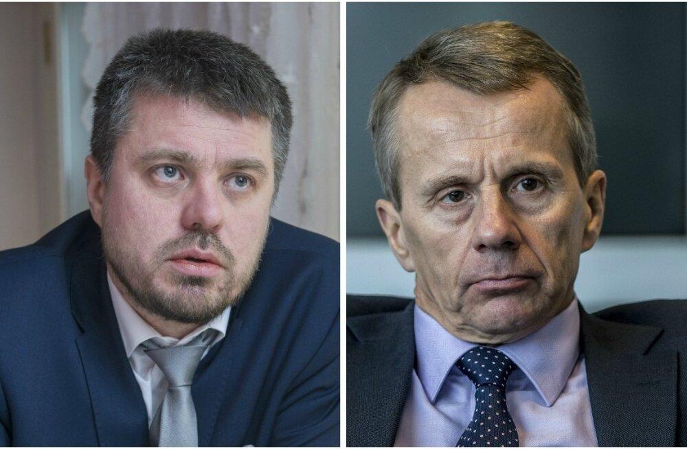 Urmas Reinsalu ja Jürgen Ligi