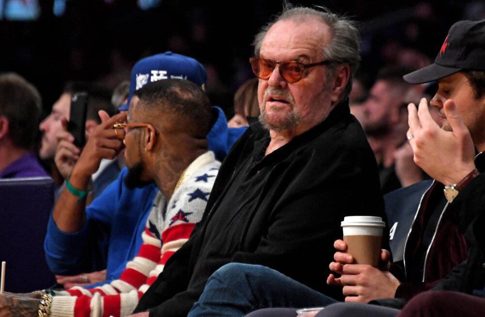 Jack Nicholson tänavu jaanuaris Lakersi koduhallis