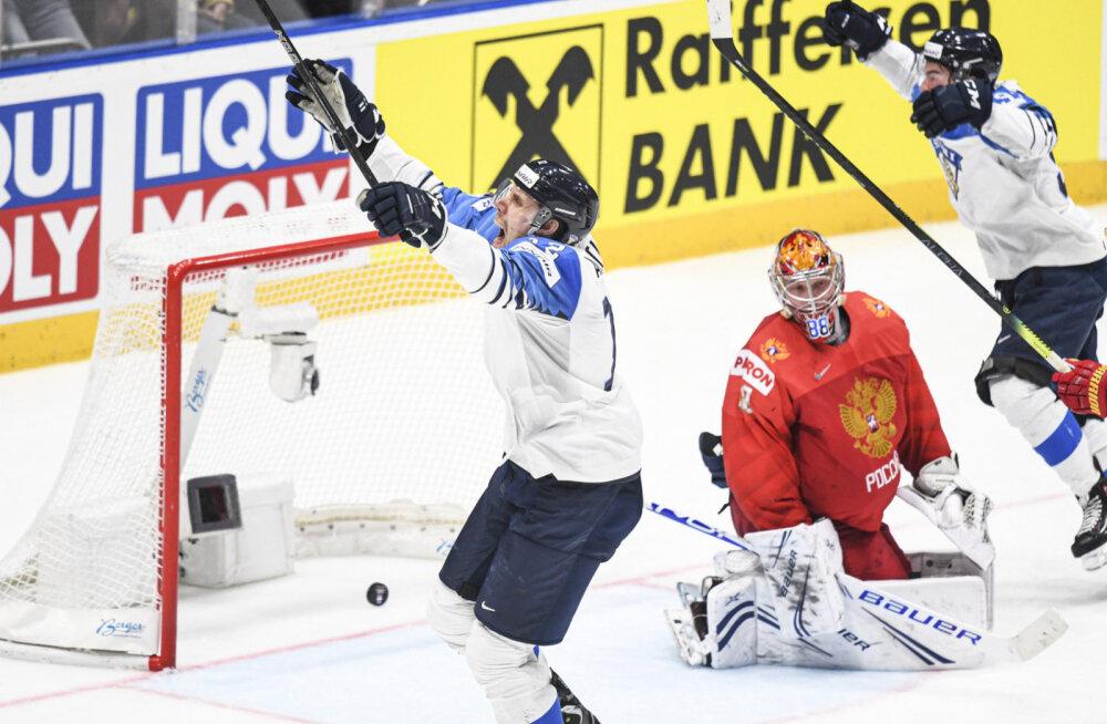 Финляндия обыграла Россию в полуфинале