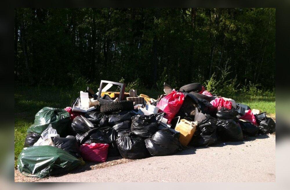 Девушке хотели выписать штраф в 4000 евро за мусор, который выкинул кто-то другой