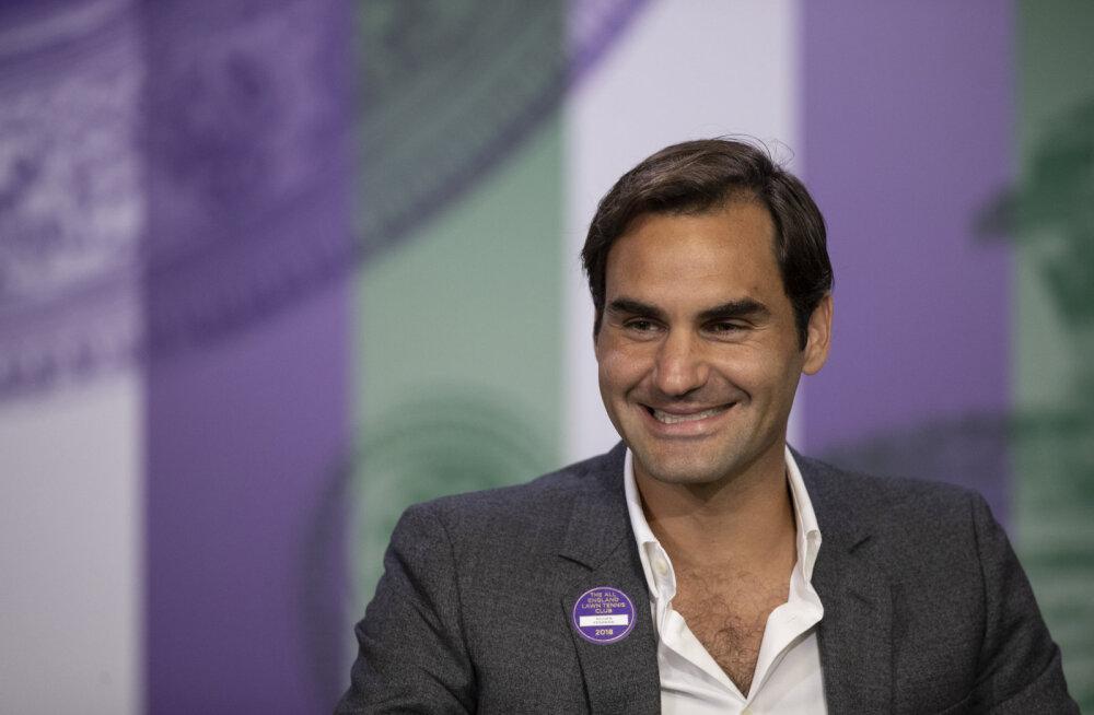 DELFI WIMBLEDONIS | Ei vedanud! Roger Federeri naabrusesse kolis dopingutestija, nüüd ei anta enam üldse asu