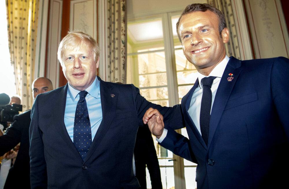 Macron: EL otsustab nädala lõpul, kas Brexiti-kokkulepe on võimalik