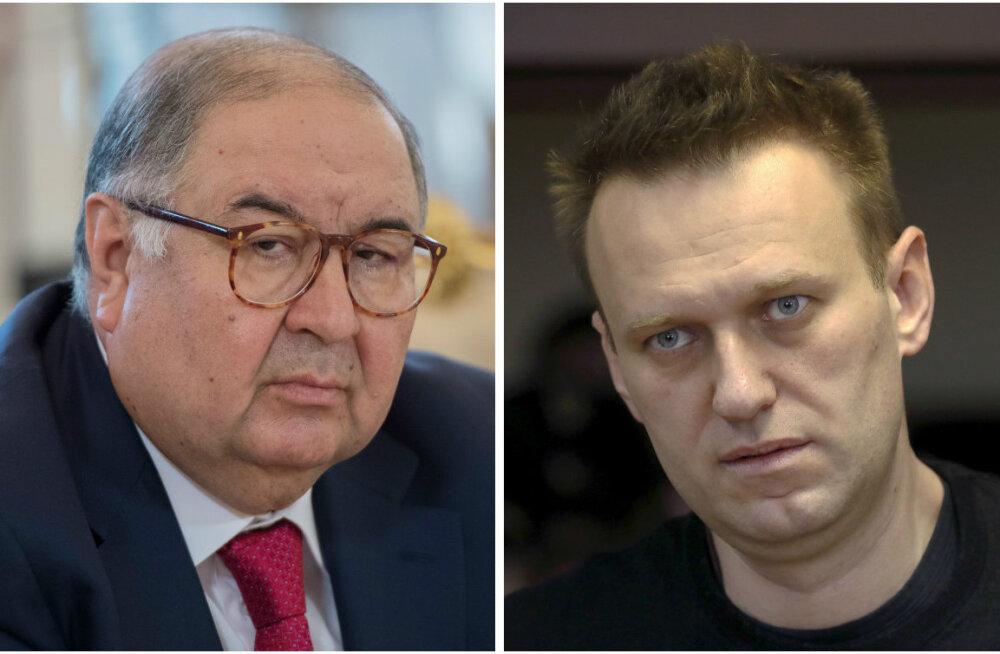 """""""Aus maksumaksja ja töökohtade looja"""", miljardär Usmanov kaebab Navalnõi laimu eest kohtusse"""