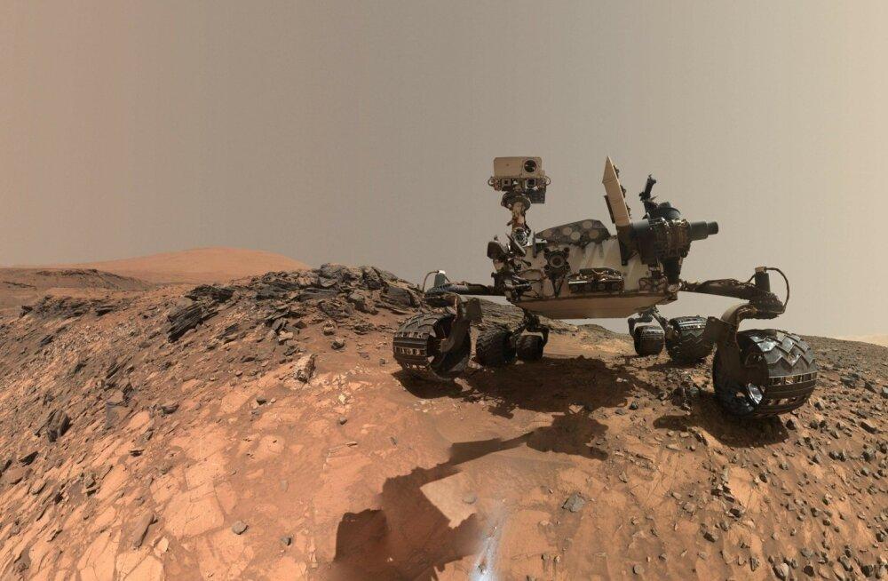 Praegu saame Marsil toimuvast aimu seal olevate kulgurite Curiosity (pildil) ja Opportunity vahendusel.